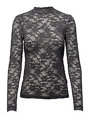 Rosemunde - T-Shirt Regular Ls W/Lace