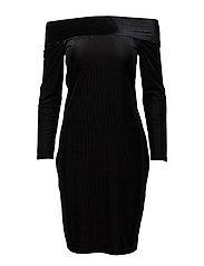 Dress ls - BLACK