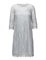 Dress 3/4 s - CEMENT GREY