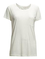 T-shirt ss - New white