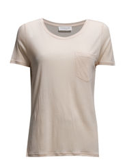 T-shirt ss - Light peach