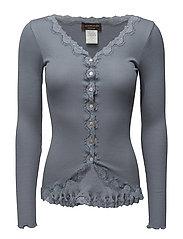 Silk cardigan regular ls w/rev vint - TRADEWINDS