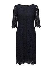 Dress 3/4 s - DARK BLUE
