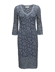 Dress 3/4 s - FLINT BLUE