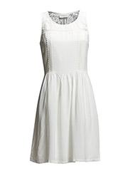 Dress - New white