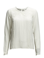 Blouse ls - New white