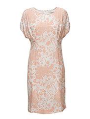 Dress ss - VINTAGE FORAL GARDEN PRINT