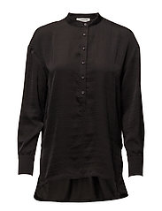 Blouse ls - BLACK