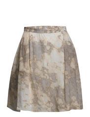Skirt - Light blurred pixel print