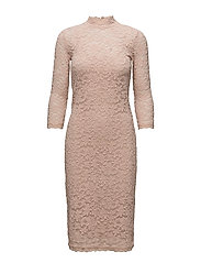 Dress 3/4 s - ROSE DUST