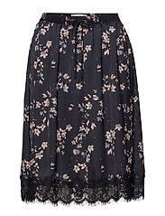 Skirt - JAPANESE FLOWER PRINT