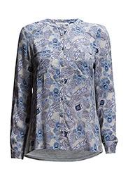 Shirt ls - Oriental paisley print