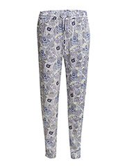 Trousers - Oriental paisley print