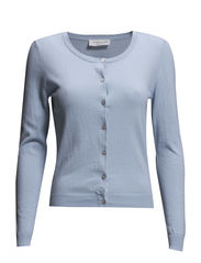 Cardigan ls - Light chambray
