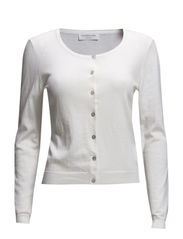 Cardigan ls - New white
