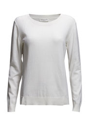 Pullover ls - New white