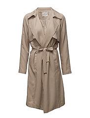 Coat ls - OXFORD TAN