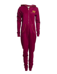 Jumpsuit - Beet red