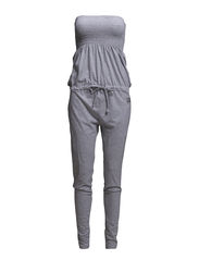 Strapless jumpsuit - Grey melee