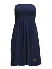 Strapless dress - Ensigne blue