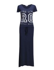 Long beachdress - Ensigne blue