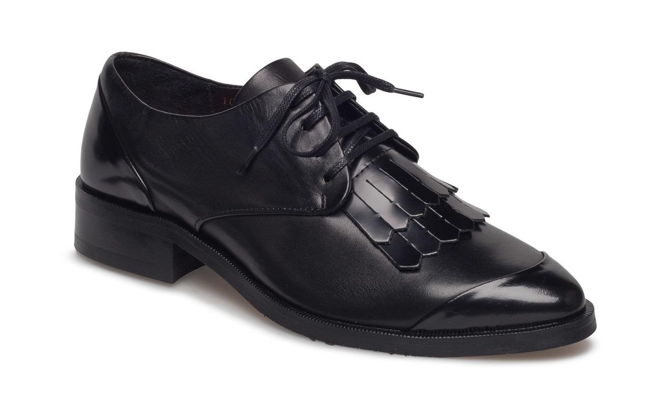 Womens Prime Fringe Shoe-Blk Derbys Royal Republiq g4ubcH9