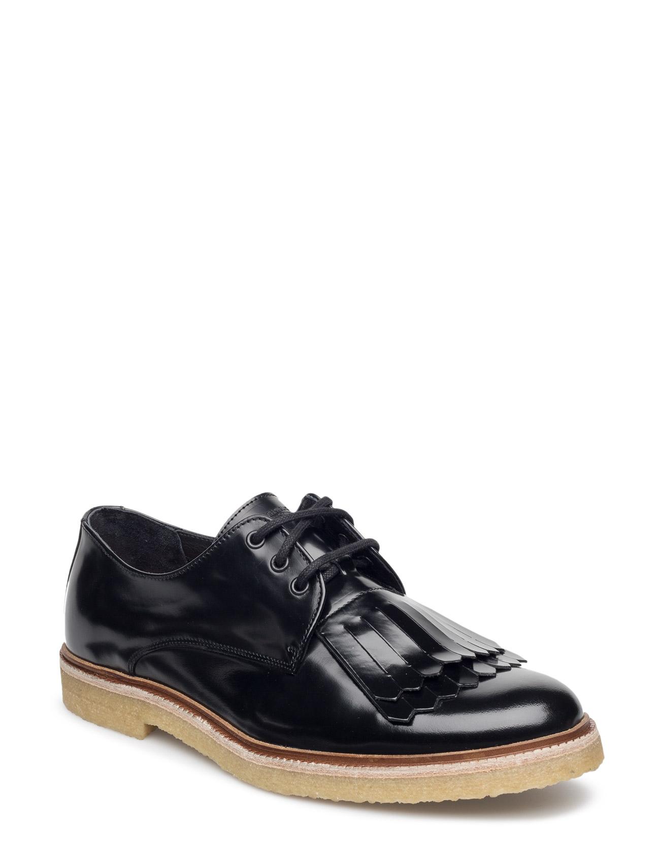 Cast Creep Derby Shoe W/Detachable Fringe Royal RepubliQ Casual sko til Herrer i Sort