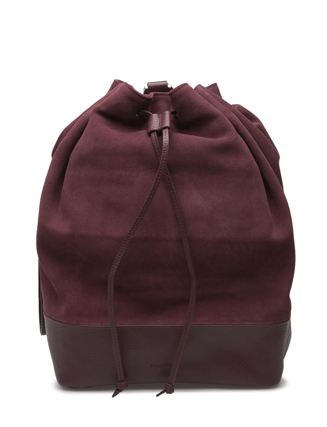 Bucket Backpack Suede Royal RepubliQ Rygsække til Damer i Bordeaux
