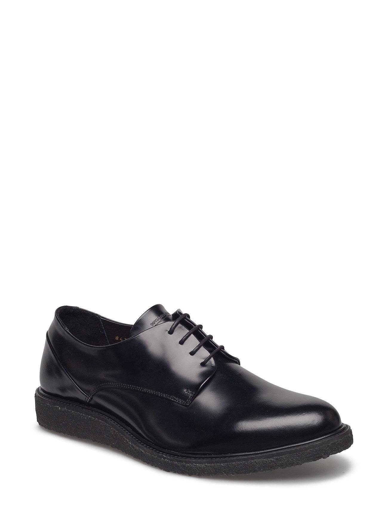 Border Creep Derby Shoe Royal RepubliQ Casual sko til Herrer i Sort