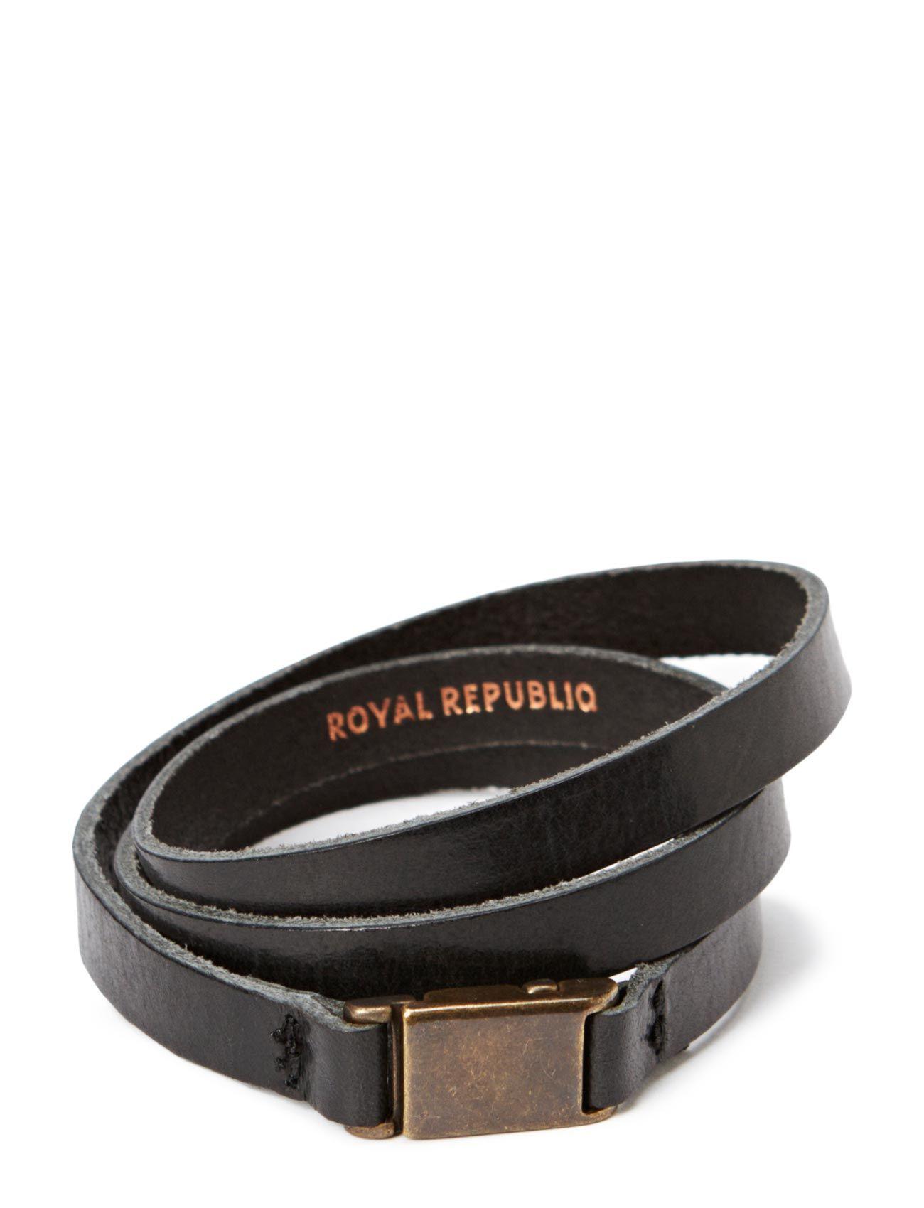 Clip Bracelet/Cuff Royal RepubliQ Smykker til Herrer i Sort