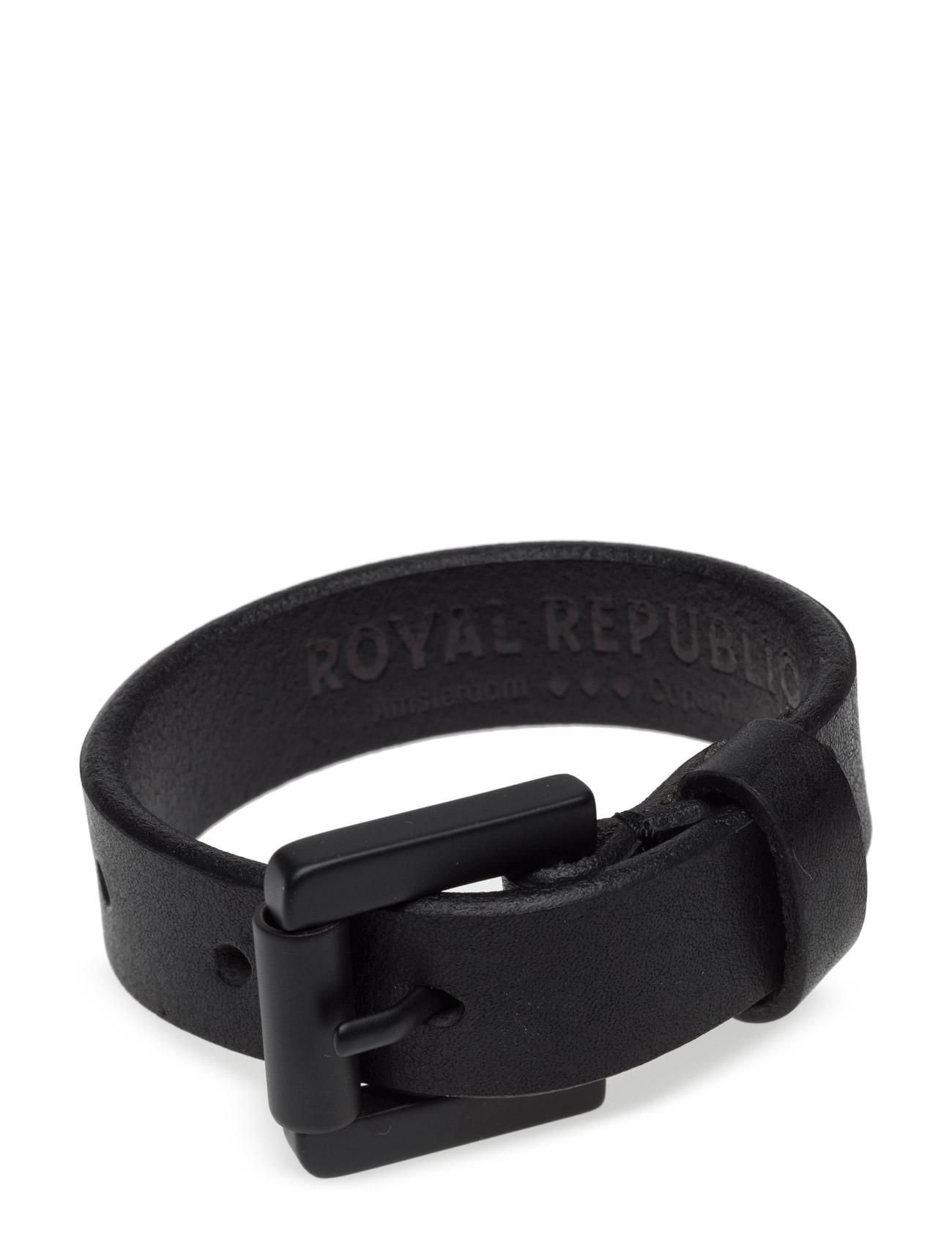 Coil Bracelet - Classic Royal RepubliQ Accessories til Mænd i Sort