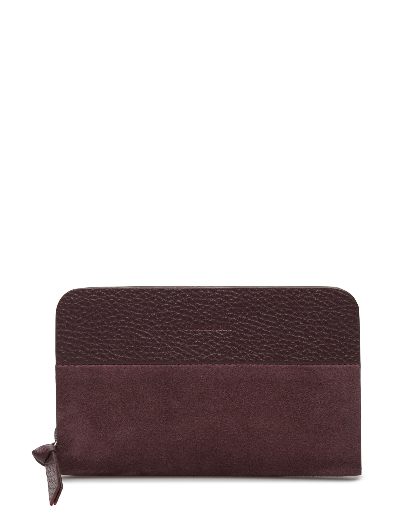 Galax Wallet Miniature Suede Royal RepubliQ Punge til Damer i Bordeaux