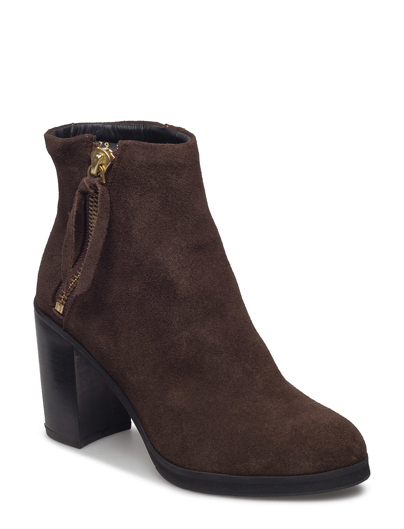Bridge Zip Boot Suede Royal RepubliQ Støvler til Damer i Brun