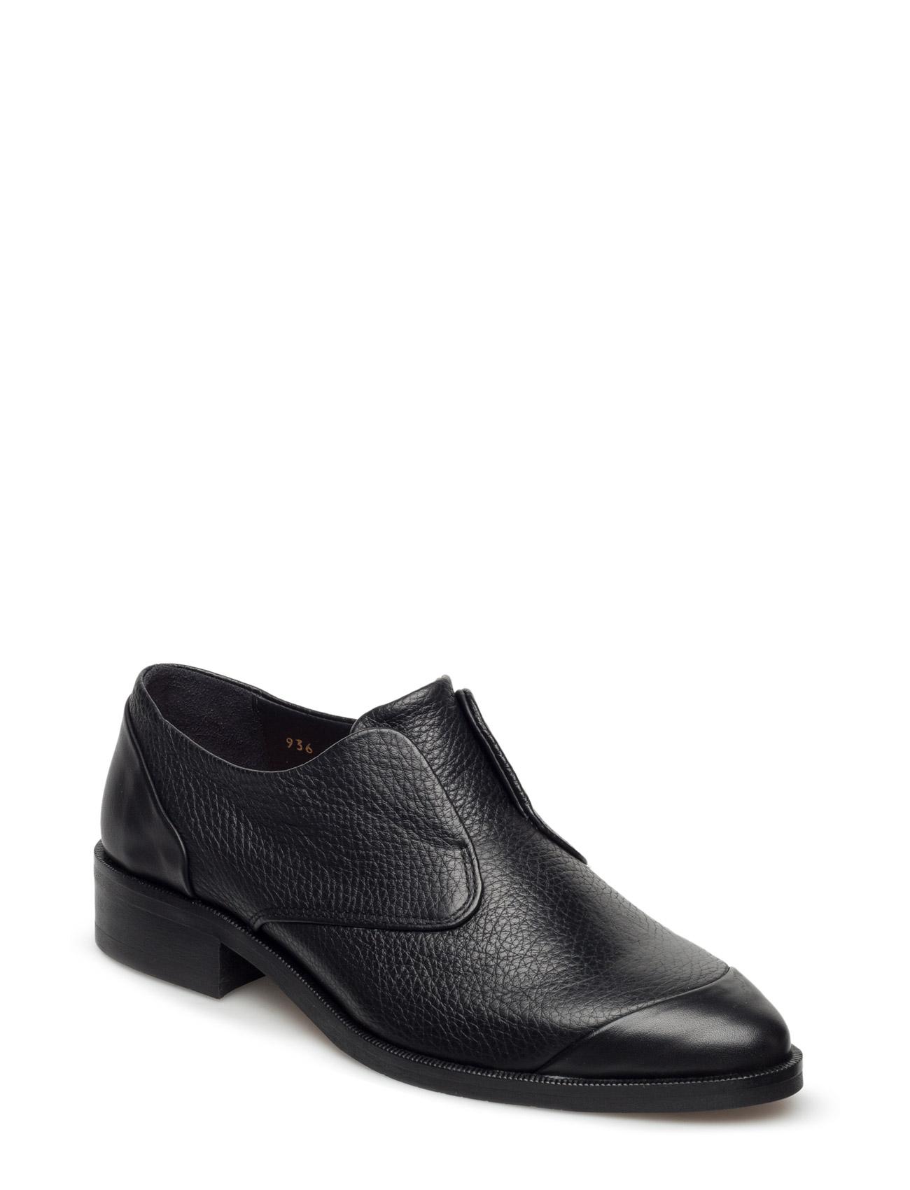 Prime Derby No Lace Caviar Royal RepubliQ Flade sko til Damer i