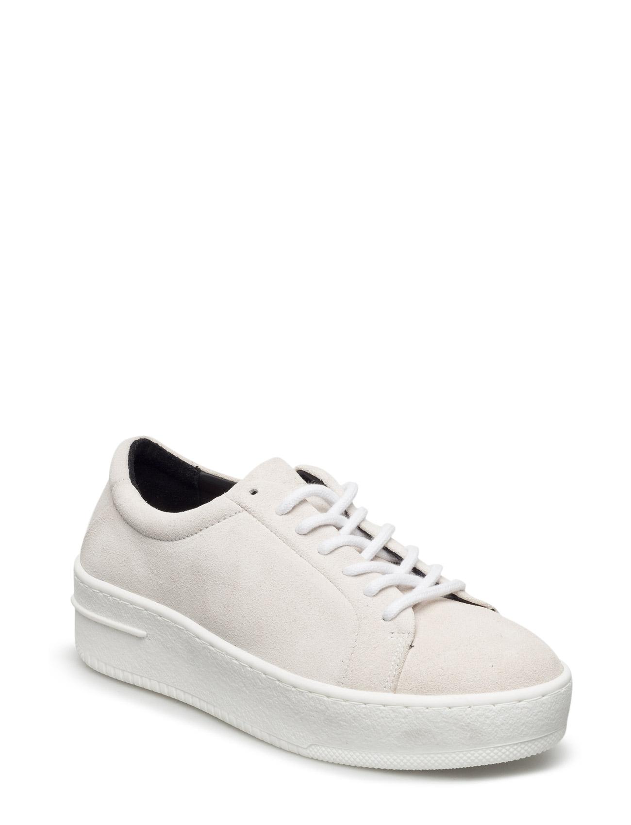 Seven20 Base Shoe Suede Wmn Royal RepubliQ Sneakers til Damer i hvid