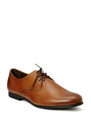 Cast derby shoe - Hazel Brown