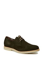 Cast Creep derby shoe - suede - Olive