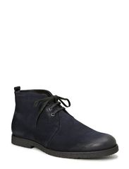 Cast Creep Midcut - Suede w/fur - Navy