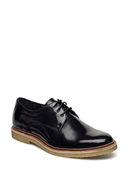 CAST CREEP DERBY SHOE - BLACK
