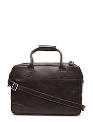 Nano big zip bag leather - BROWN