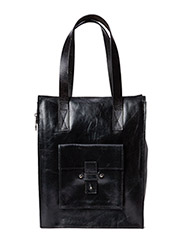 School zip bag - Black