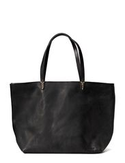 Reflection zip handbag - Black