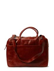 Explorer laptop bag double - Cognac