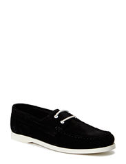 Pacific boat shoe CASUAL Suede - Black