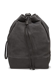 BUCKET BACKPACK SUEDE - ANTHRACITE