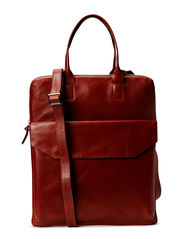 New Courier bag - COGNAC