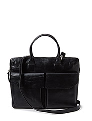 New Courier Day Bag - BLACK