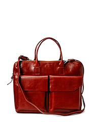 New Courier Day Bag - COGNAC