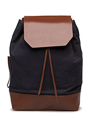 BUCKET BACKPACK CANVAS - NAVY