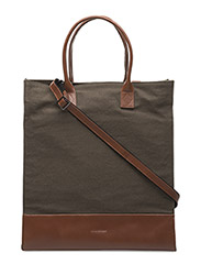 NEW TOTE BAG CANVAS - TWILIGHT OLIVE